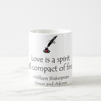 Shakespeare Love Spirit Fire Coffee Mug