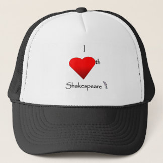 Shakespeare Love Trucker Hat