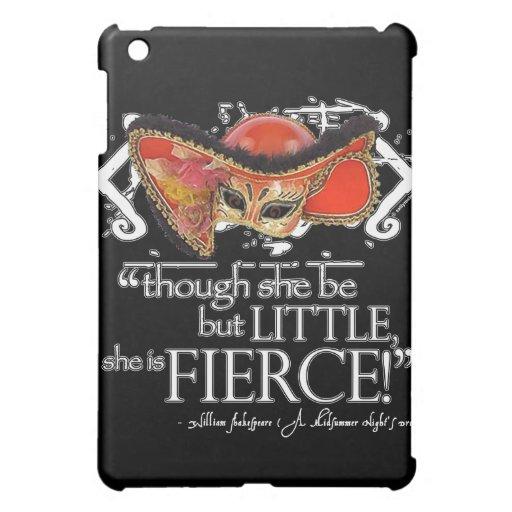 Shakespeare Midsummer Night's Dream Fierce Quote iPad Mini Cases