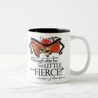 Shakespeare Midsummer Night's Dream Fierce Quote Two-Tone Mug