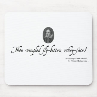 Shakespeare Mousepad #5. Unusual gift.