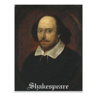 Shakespeare on a poster