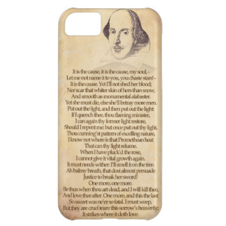 Shakespeare on your iPhone - Othello, Act V Sc II iPhone 5C Case