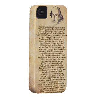 Shakespeare on your iPhone - Taming of the Shrew iPhone 4 Case-Mate Cases