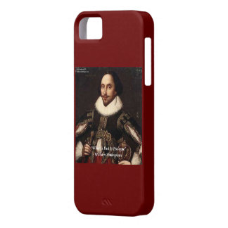 """Shakespeare """"Past/Prologue"""" iPhone 5 Case"""