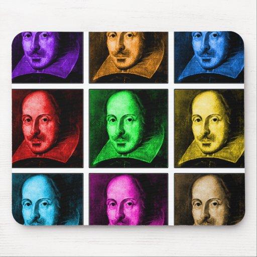 Shakespeare Pop Art Mousemats