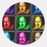 Shakespeare Pop Art Sticker