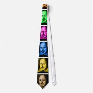 Shakespeare Pop Art Tie