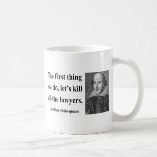 Shakespeare Quote 4b Basic White Mug