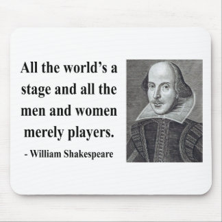 Shakespeare Quote 5b Mouse Mat