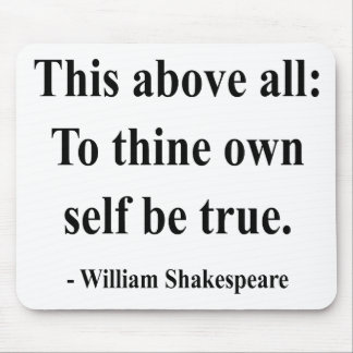 Shakespeare Quote 8a Mouse Mat