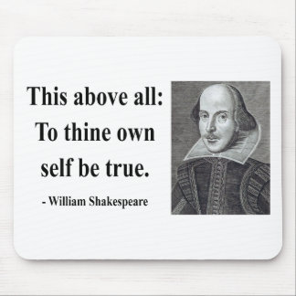 Shakespeare Quote 8b Mouse Mat