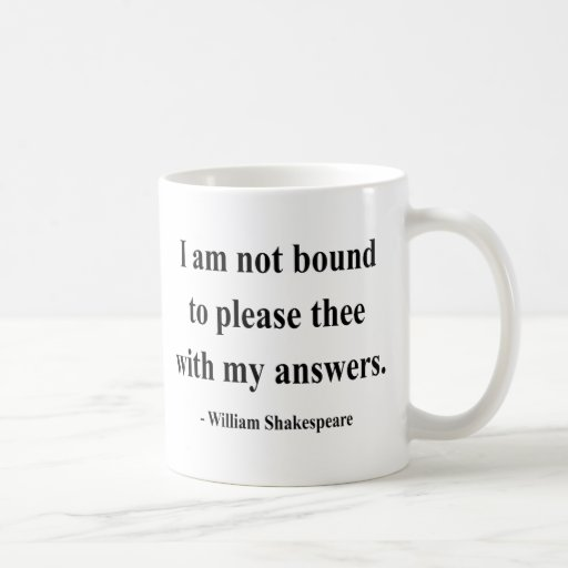 Shakespeare Quote 9a Coffee Mug