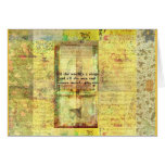 Shakespeare quote All the world's a stage ART Greeting Card