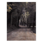 Shakespeare Quote; Bend in the Buffalo Road Postcards