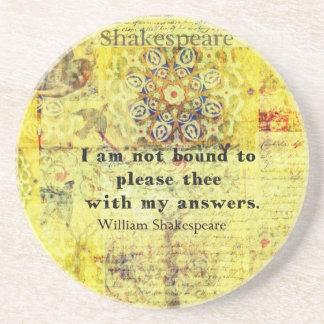 Shakespeare Quote Coaster
