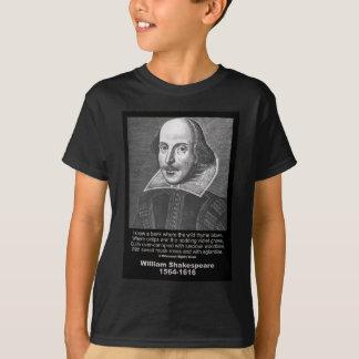 Shakespeare Quote Midsummer Night's Dream T Shirt