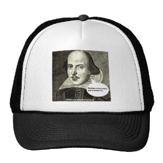 Shakespeare-quote; Neither a borrower nor a lender Hat