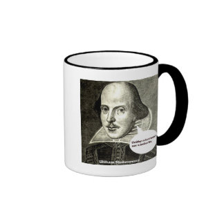 Shakespeare-quote; Neither a borrower nor a lender Coffee Mugs