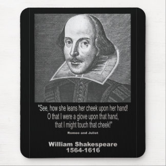 Shakespeare Quote Romeo and Juliet Mousepads
