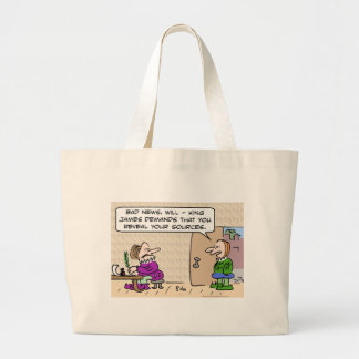 shakespeare reveal sources king james canvas bag