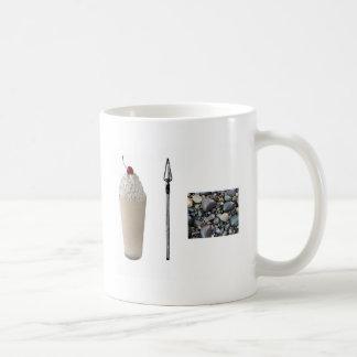 Shakespeare Rocks Basic White Mug