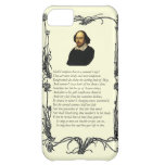 Shakespeare Shall I compare thee to a summer's day Case For iPhone 5C