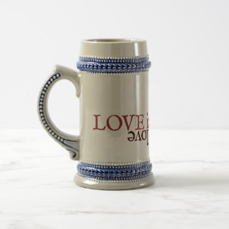 Shakespeare Sonnet 116 Beer Stein
