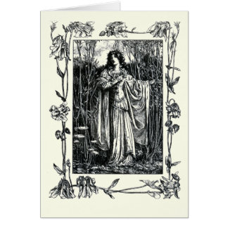 Shakespeare Sonnet # 18 Card
