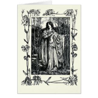 Shakespeare Sonnet # 18 Greeting Card