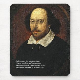 Shakespeare Sonnet # 18 Mouse Mat