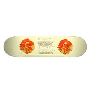 Shakespeare Sonnet # 18 Skate Board Deck