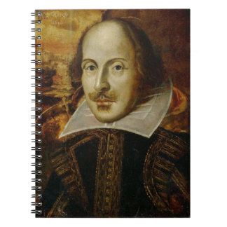Shakespeare Spiral Notebook