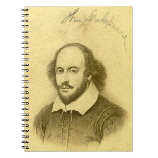 Shakespeare Spiral Spiral Notebook