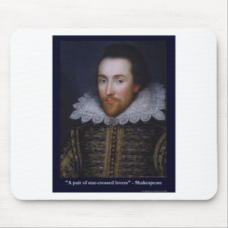 Shakespeare Star-Crossed Lovers Gifts Mugs Tees Mouse Pads