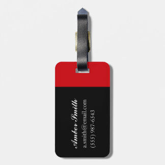 Shakespeare Tulips Luggage Tag
