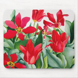 Shakespeare Tulips Mouse Mat