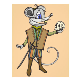 Shakespearean Mouse 21.5 Cm X 28 Cm Flyer
