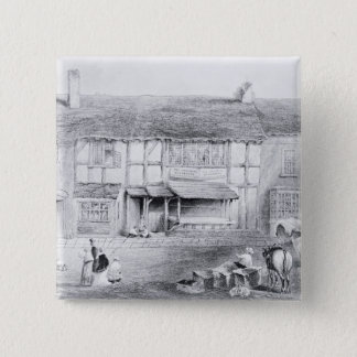 Shakespeare's Birthplace 15 Cm Square Badge