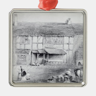 Shakespeare's Birthplace Christmas Ornament