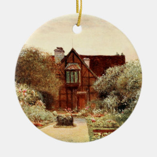 Shakespeare's Birthplace II, Stratford-upon-Avon Christmas Ornament