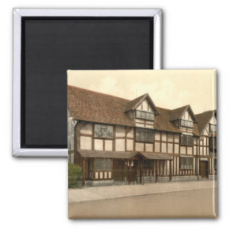 Shakespeare's Birthplace, Stratford-upon-Avon, UK Magnet