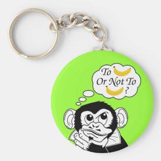 Shakespeare's Monkey Key Ring
