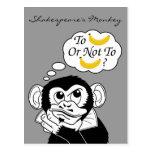 Shakespeare's Monkey Postcards
