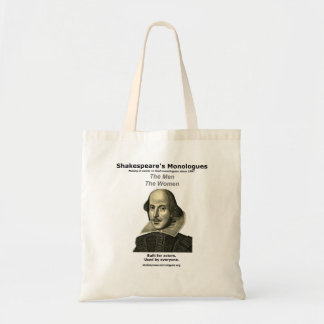 Shakespeare's Monologues Tote
