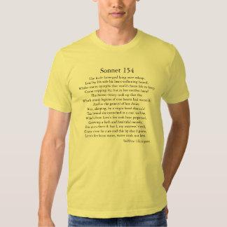 Shakespeare's Sonnet 154 Tee Shirt