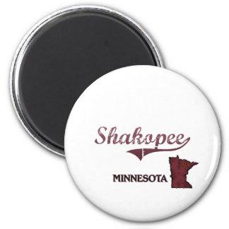 Shakopee Minnesota City Classic 6 Cm Round Magnet