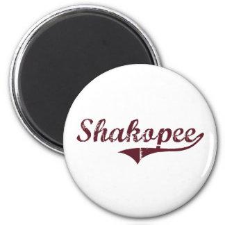 Shakopee Minnesota Classic Design 6 Cm Round Magnet