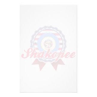 Shakopee, MN Personalized Stationery