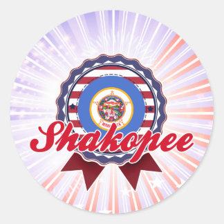 Shakopee, MN Round Sticker